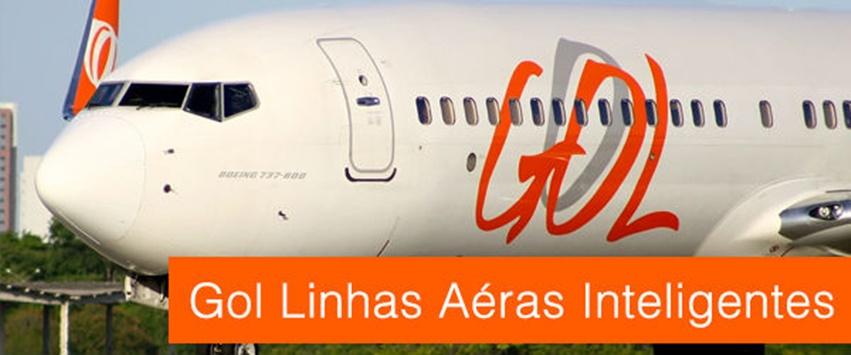 Avião da Voegol 737 800