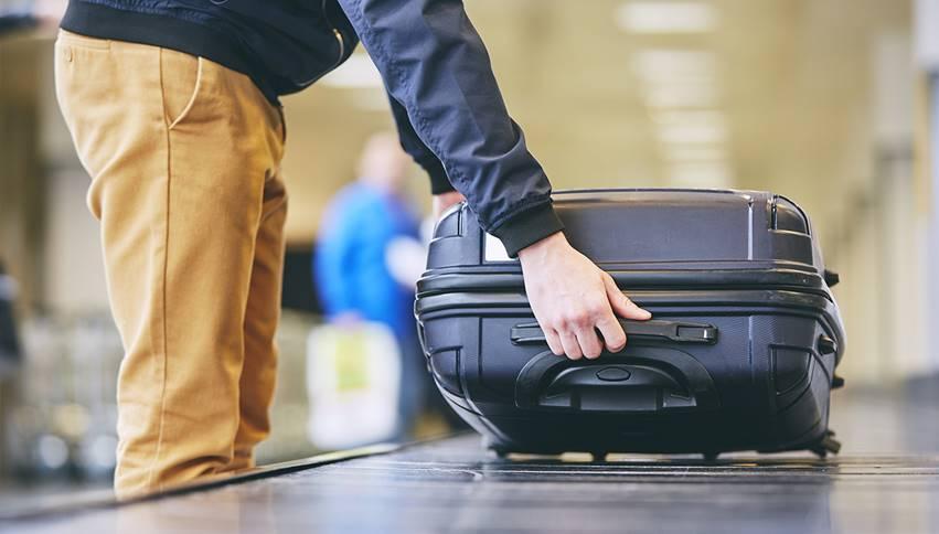 mala de mão avião despachar