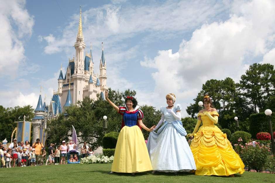 Pontos turísticos na Disney