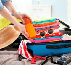 Itens essenciais que não podem faltar em uma mala de viagem