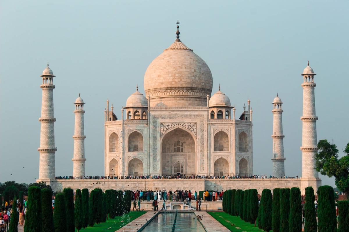 Taj Mahal na india melhor destino